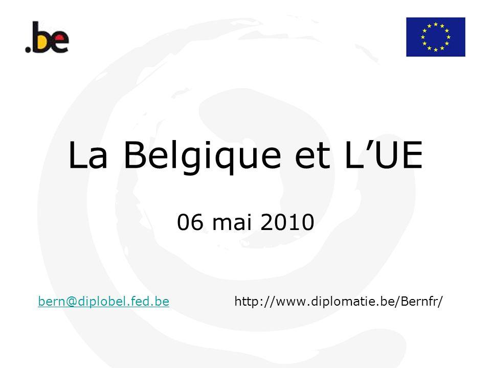 06 mai 2010 bern@diplobel.fed.be http://www.diplomatie.be/Bernfr/