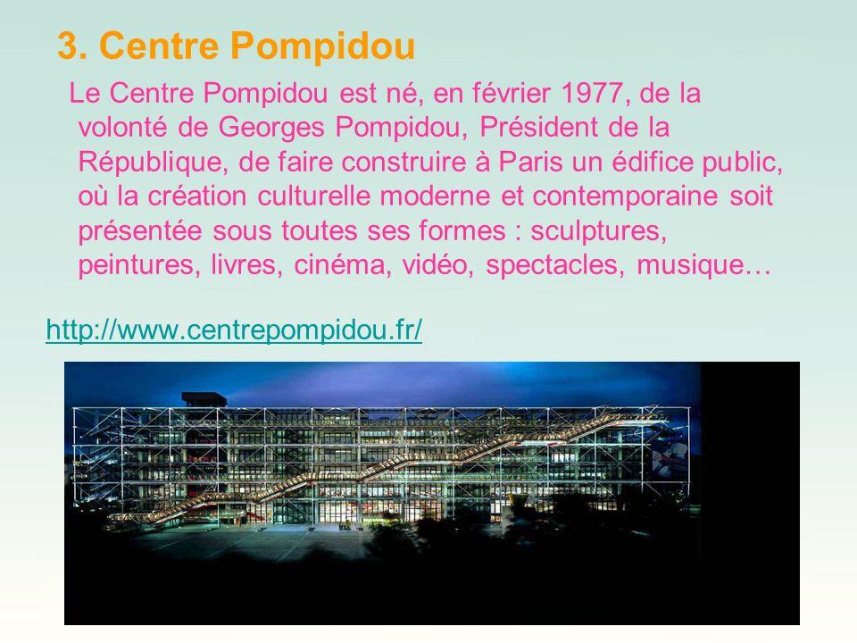 3. Centre Pompidou