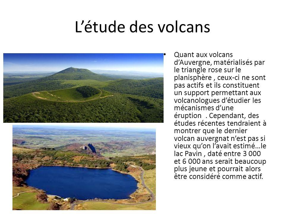 L'étude des volcans