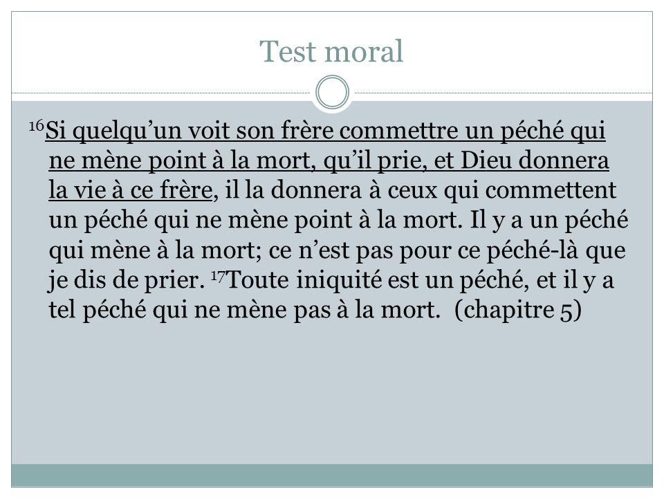 Test moral