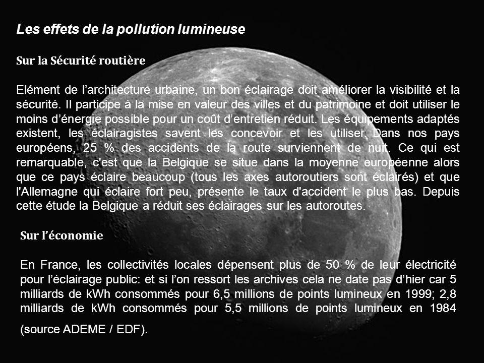 Les effets de la pollution lumineuse
