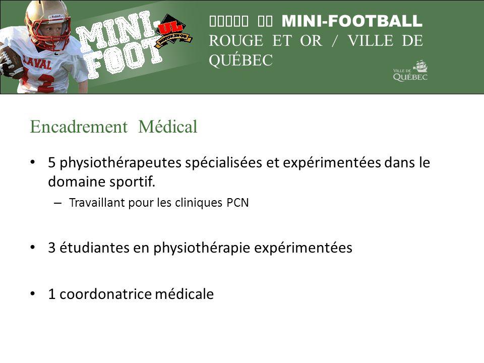 Encadrement Médical 5 physiothérapeutes spécialisées et expérimentées dans le domaine sportif. Travaillant pour les cliniques PCN.