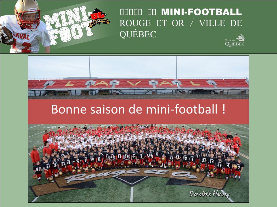 Bonne saison de mini-football !