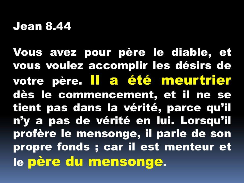 Jean 8.44