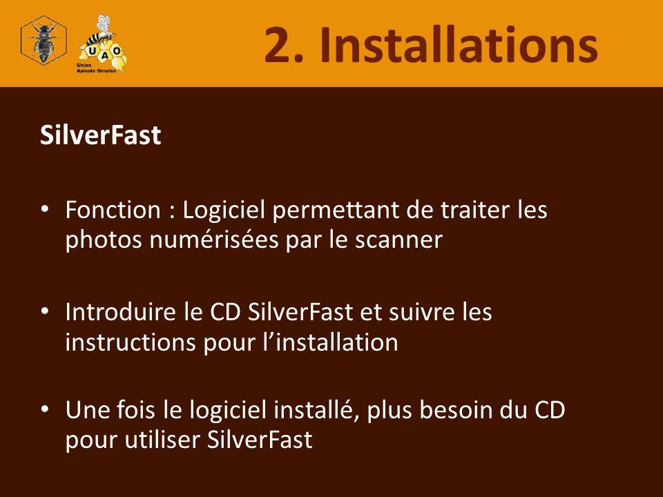 2. Installations SilverFast