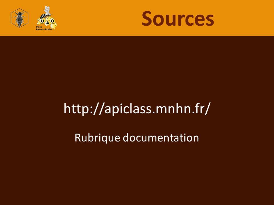 Rubrique documentation