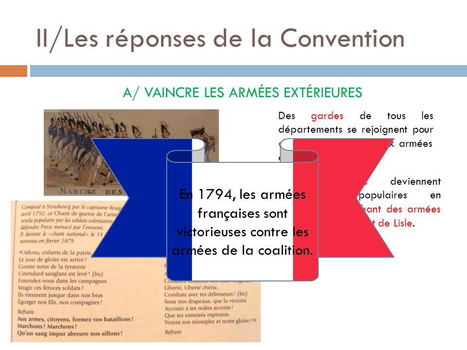 II/Les réponses de la Convention