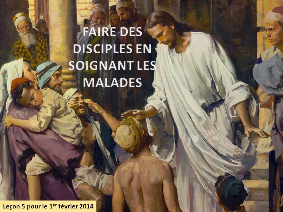 FAIRE DES DISCIPLES EN SOIGNANT LES MALADES