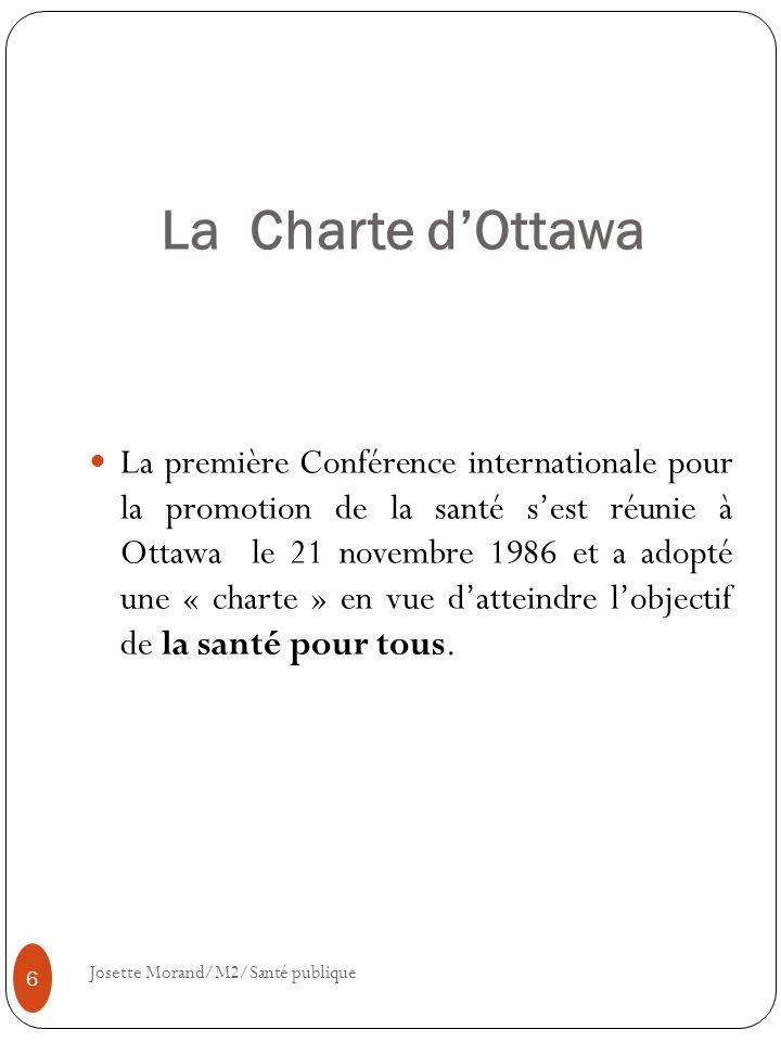 La Charte d'Ottawa