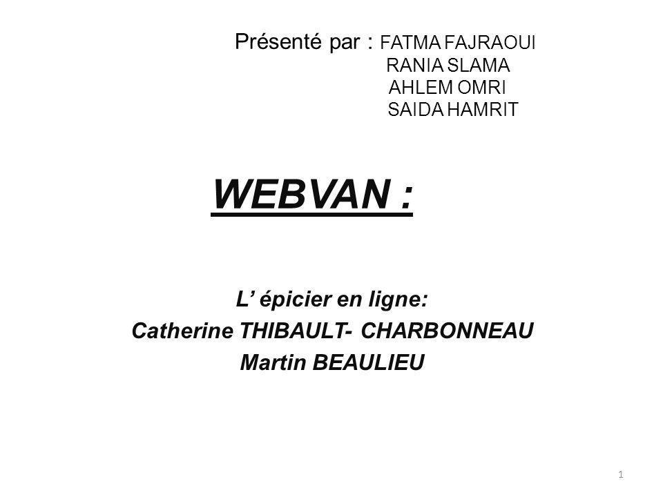 L' épicier en ligne: Catherine THIBAULT- CHARBONNEAU Martin BEAULIEU
