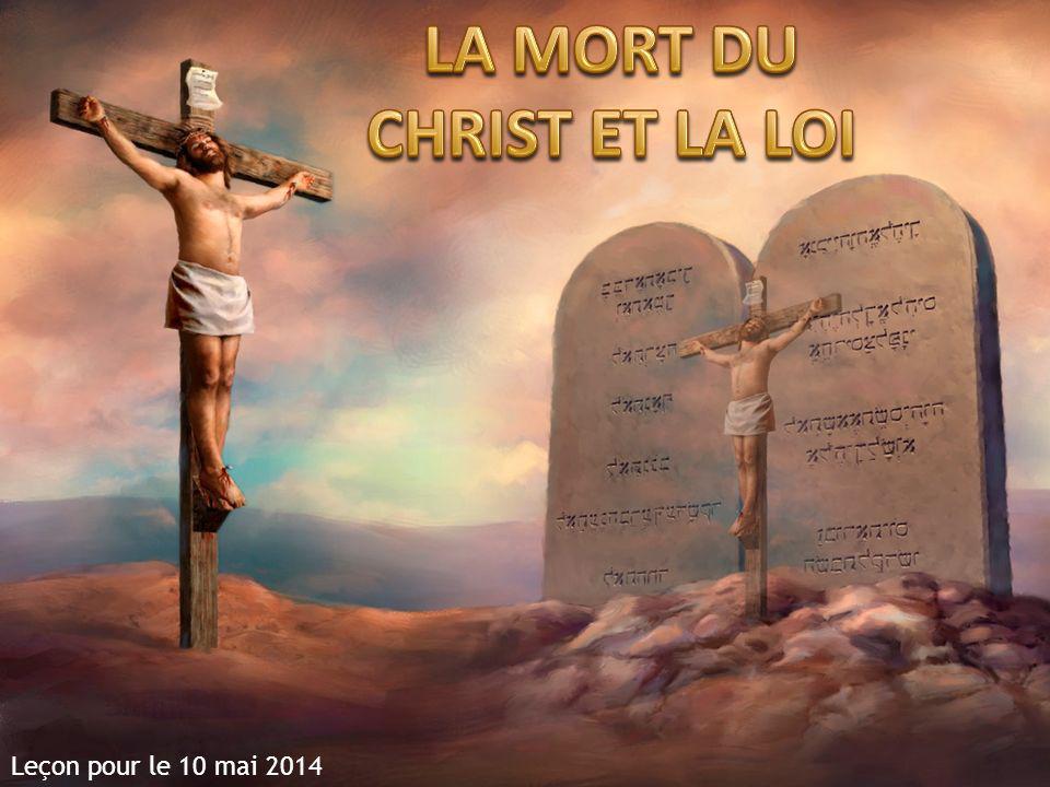 LA MORT DU CHRIST ET LA LOI