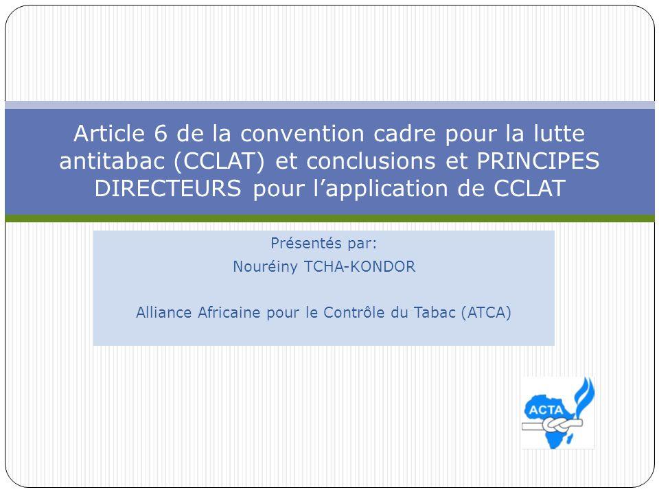 Alliance Africaine pour le Contrôle du Tabac (ATCA)