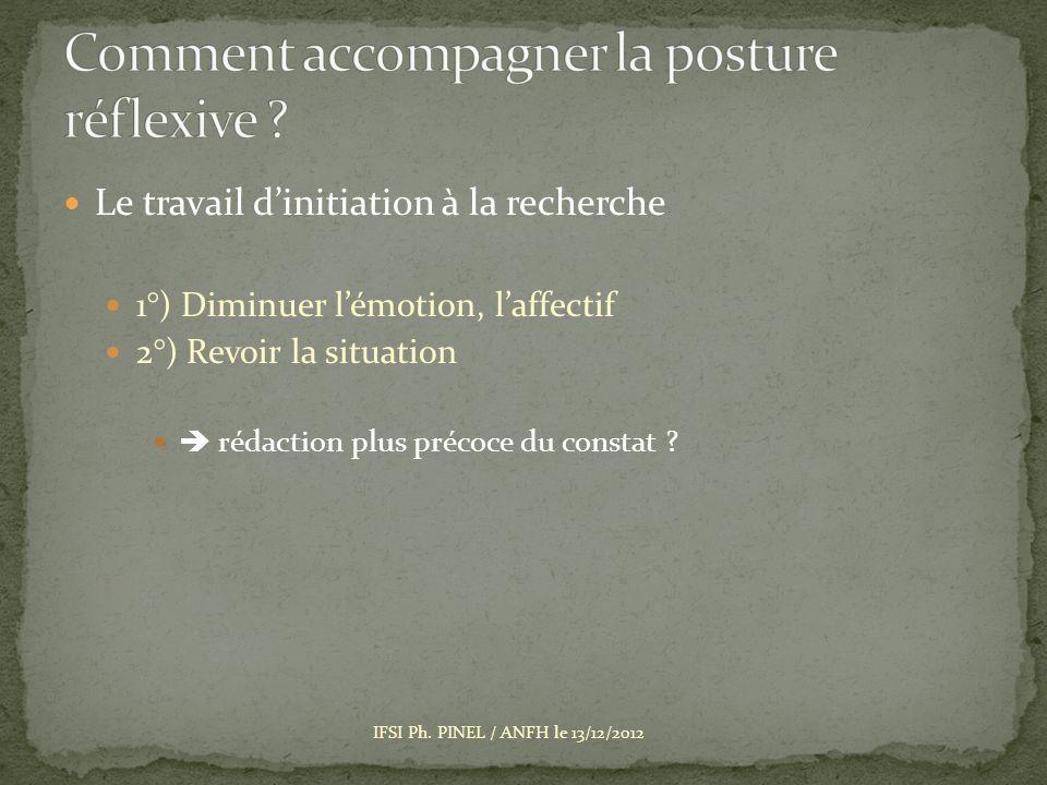 Comment accompagner la posture réflexive