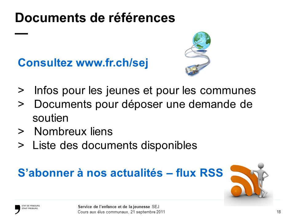 Documents de références —