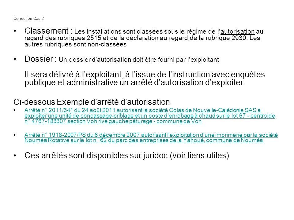 Dossier : Un dossier d'autorisation doit être fourni par l'exploitant