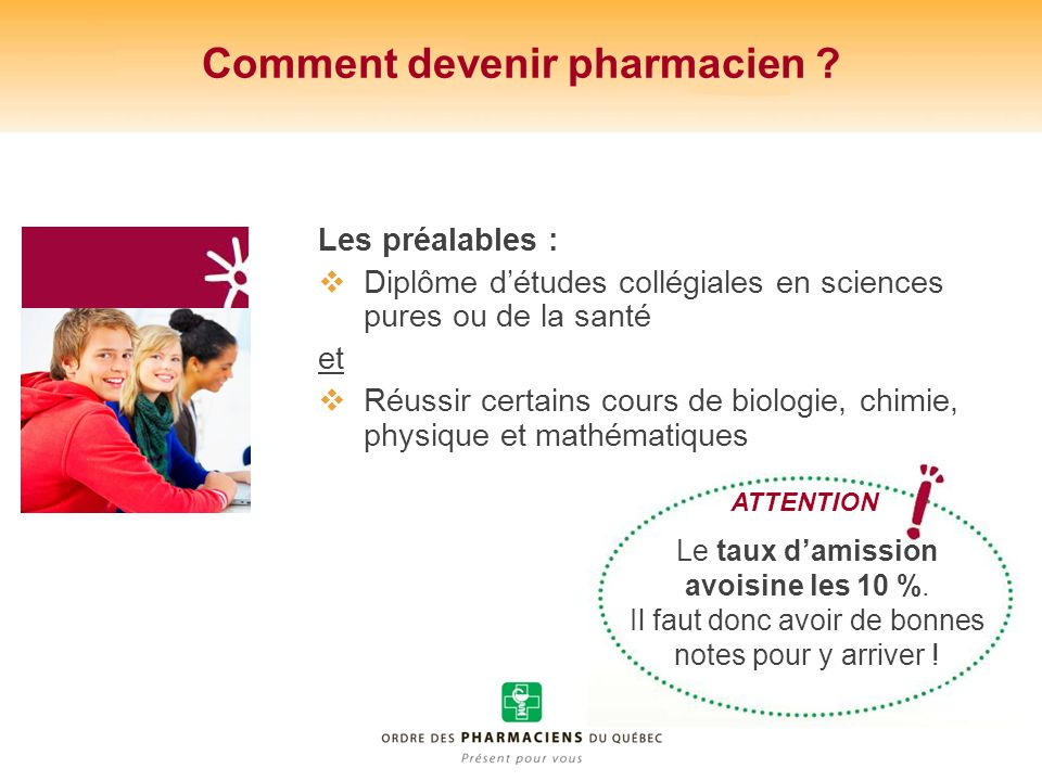 Comment devenir pharmacien