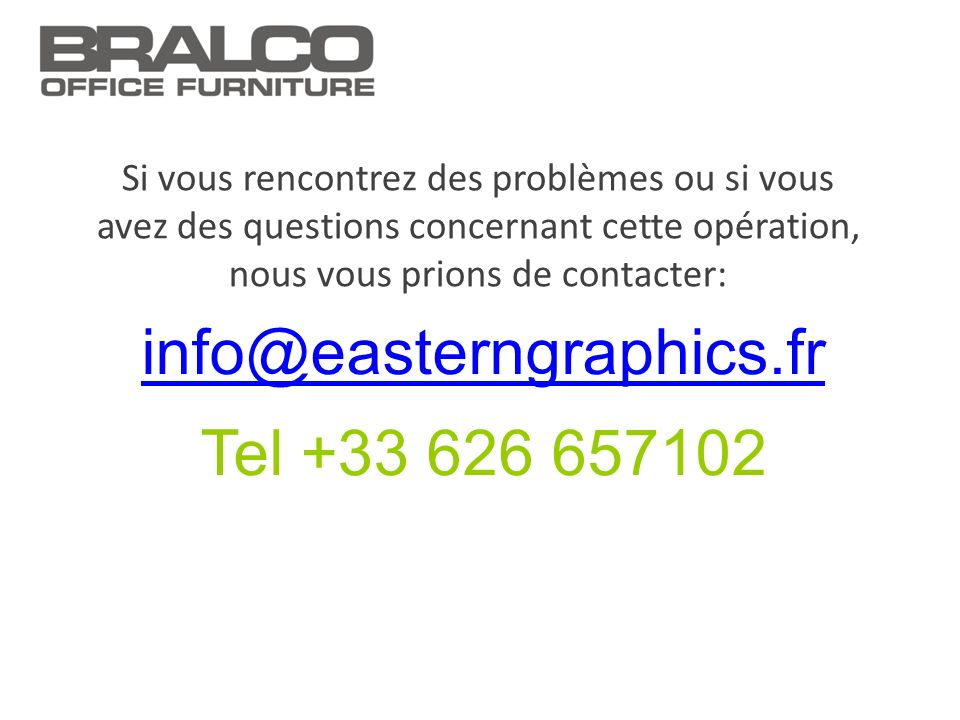 info@easterngraphics.fr Tel +33 626 657102