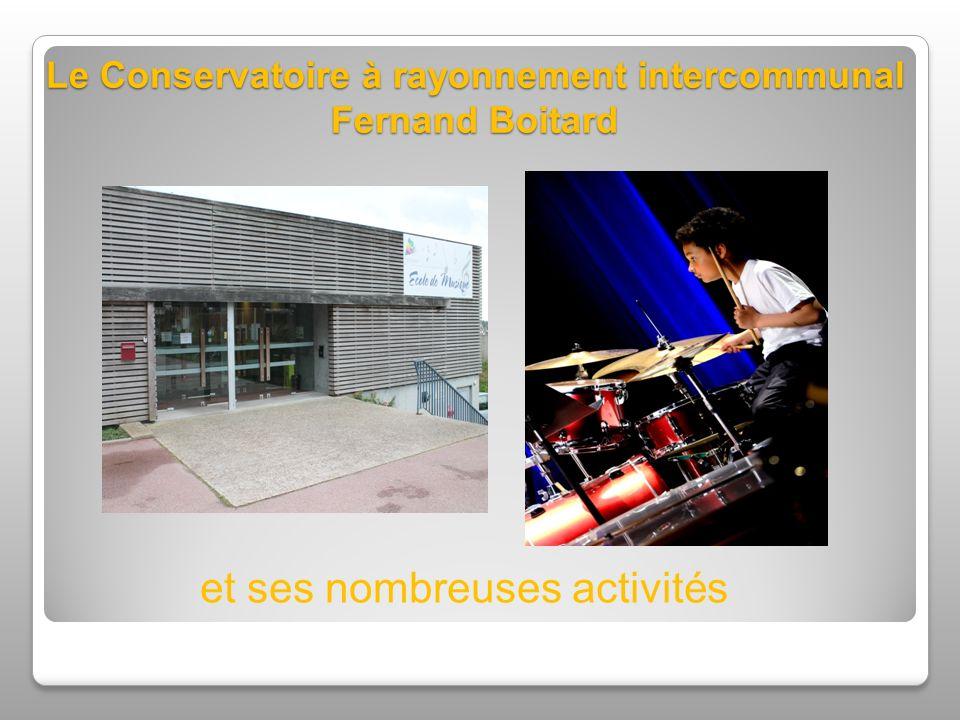Le Conservatoire à rayonnement intercommunal Fernand Boitard