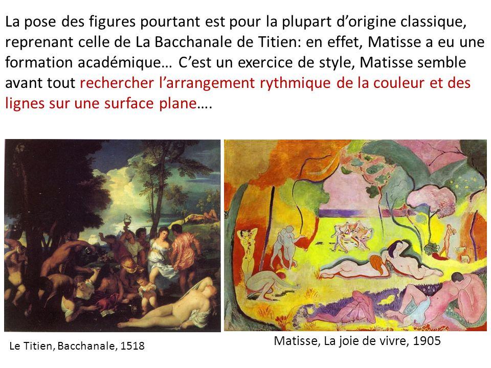 Matisse, La joie de vivre, 1905