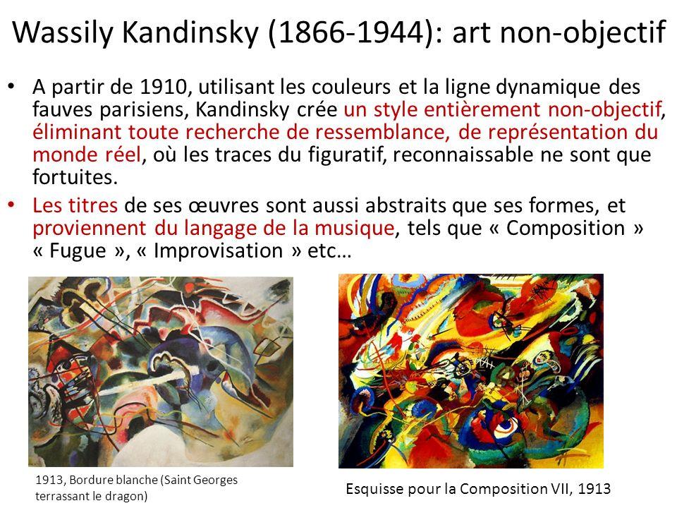 Wassily Kandinsky (1866-1944): art non-objectif