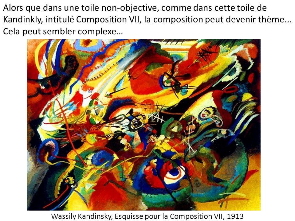 Wassily Kandinsky, Esquisse pour la Composition VII, 1913