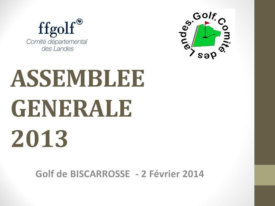 Golf de BISCARROSSE - 2 Février 2014