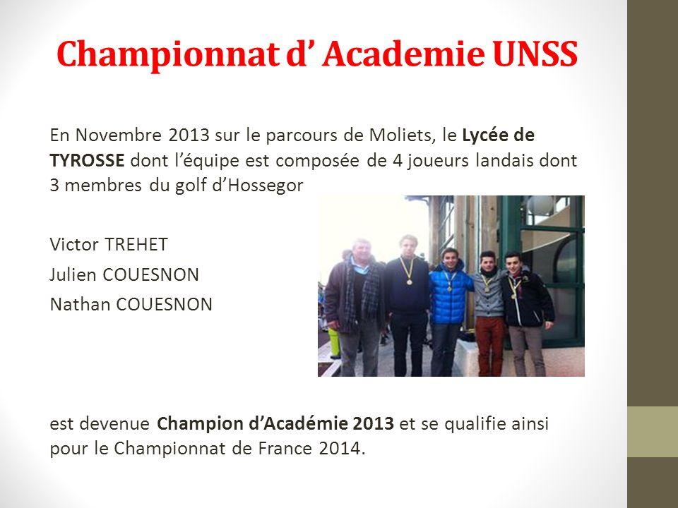 Championnat d' Academie UNSS