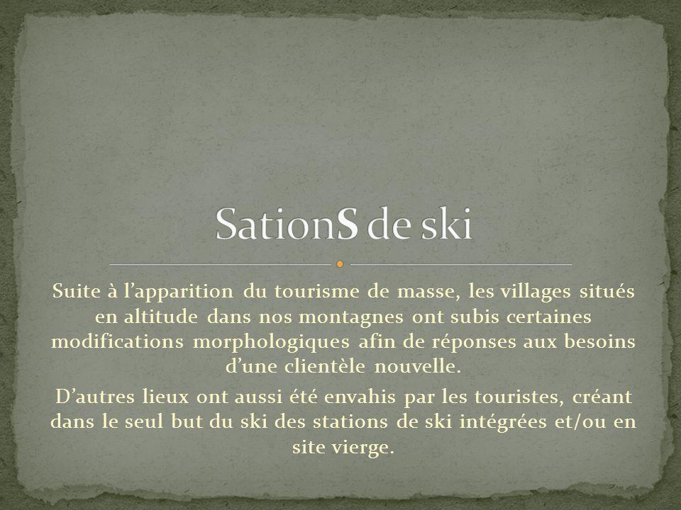 SationS de ski