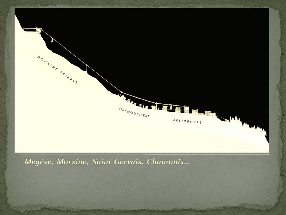 Megève, Morzine, Saint Gervais, Chamonix…