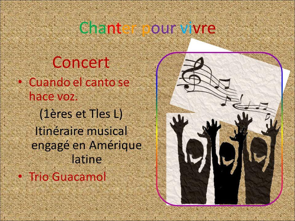 Itinéraire musical engagé en Amérique latine
