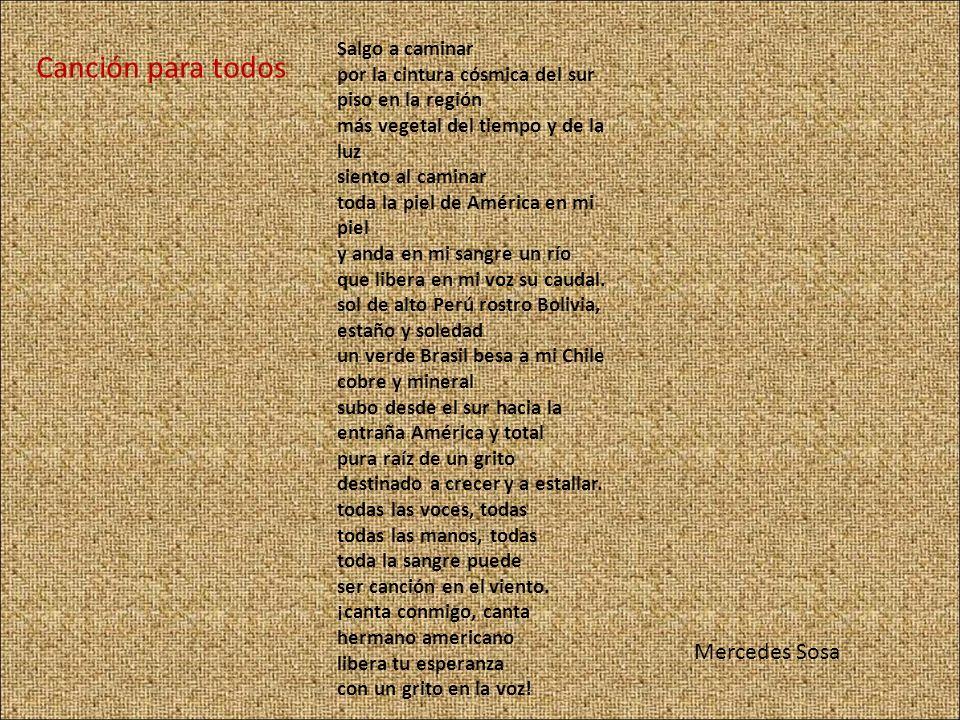 Canción para todos Mercedes Sosa