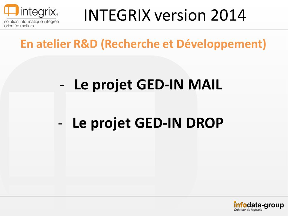 En atelier R&D (Recherche et Développement)