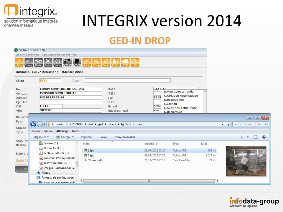 INTEGRIX version 2014 GED-IN DROP