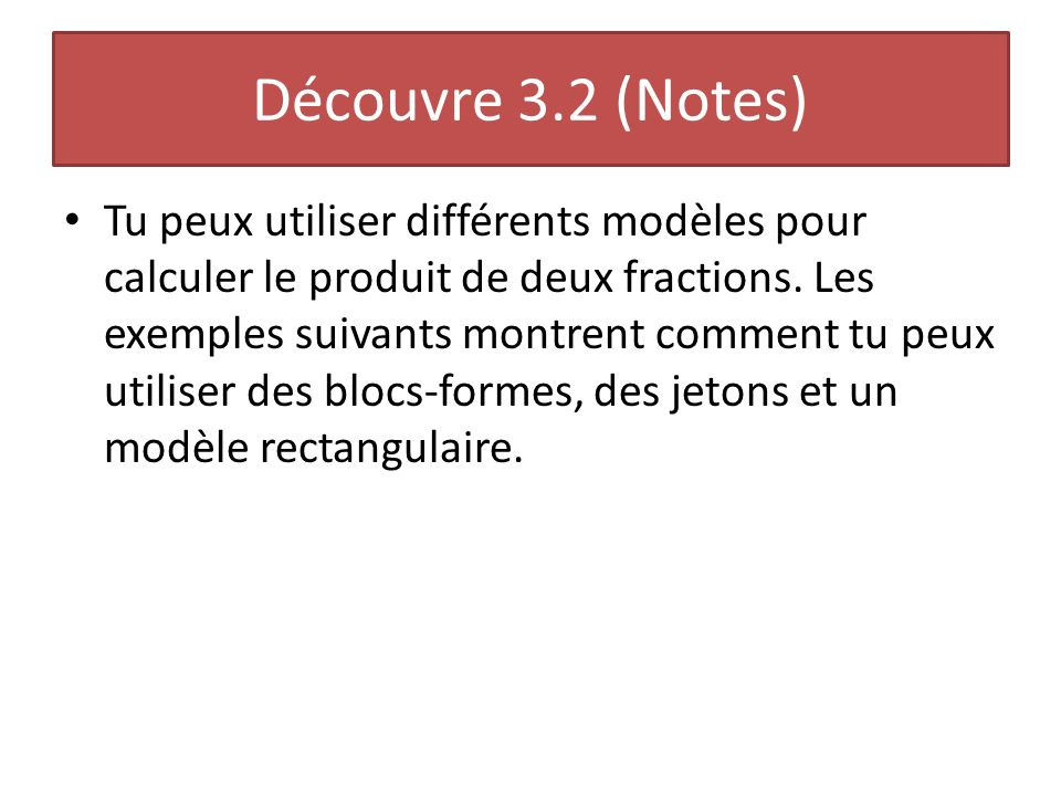 Découvre 3.2 (Notes)