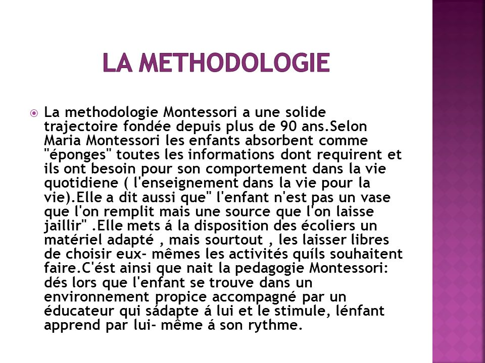 La Methodologie