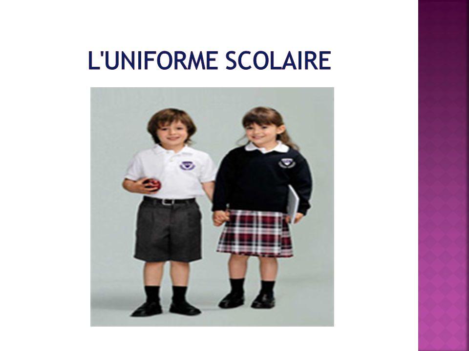 l uniforme scolaire