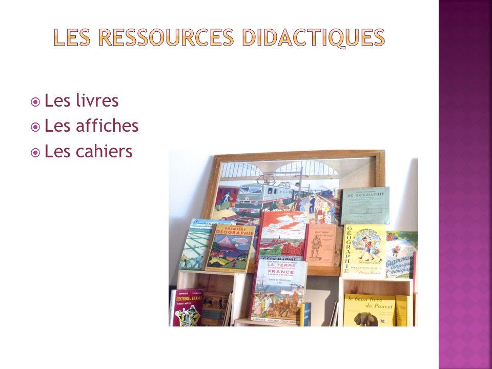 Les ressources didactiques