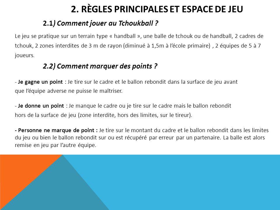 2.2) Comment marquer des points