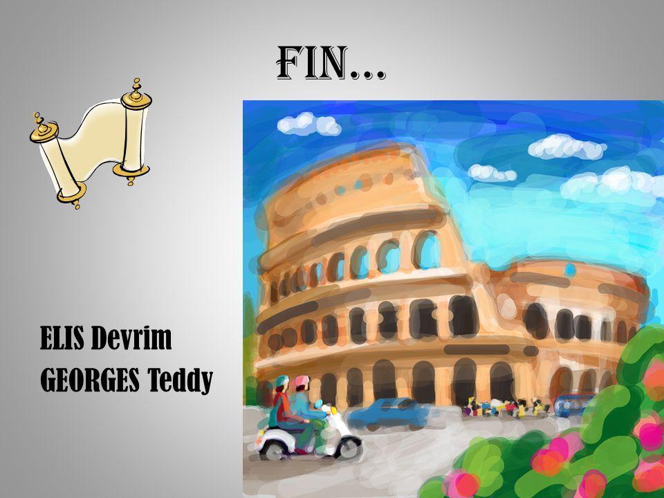 FIN… ELIS Devrim GEORGES Teddy