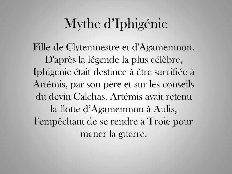 Mythe d'Iphigénie