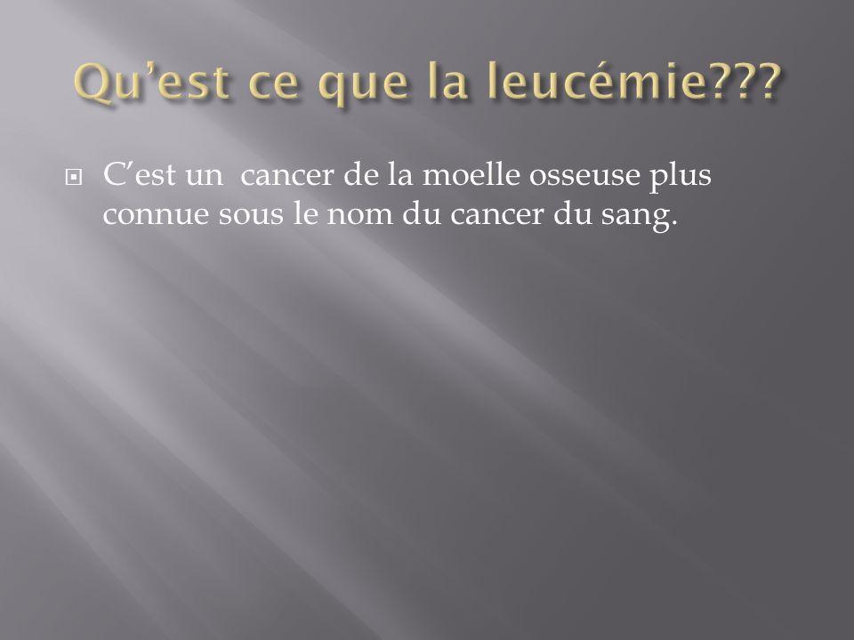 Qu'est ce que la leucémie