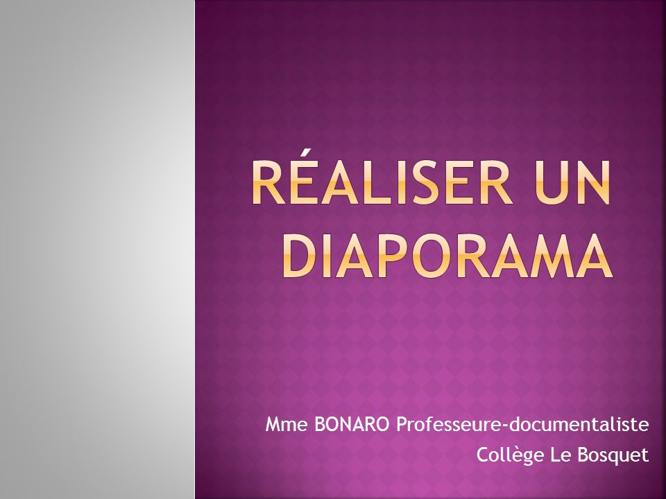 Mme BONARO Professeure-documentaliste Collège Le Bosquet