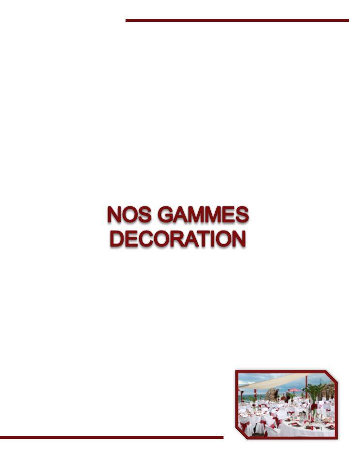 NOS GAMMES DECORATION