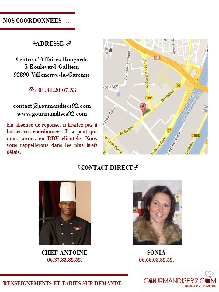 Centre d'Affaires Bongarde 92390 Villeneuve-la-Garenne