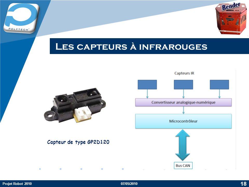 Les capteurs à infrarouges