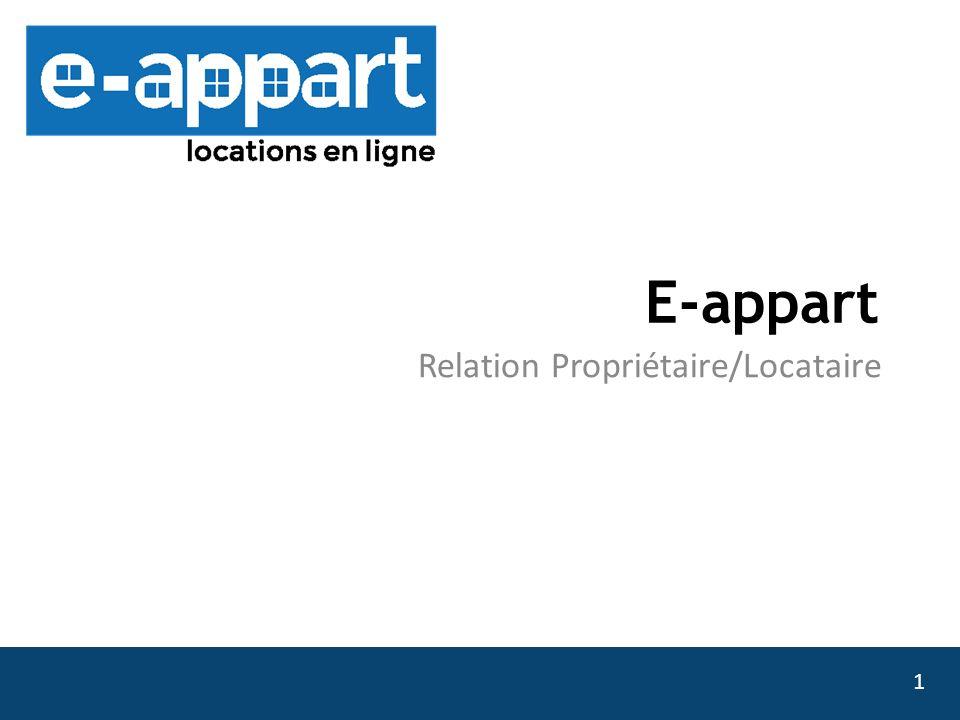 Relation Propriétaire/Locataire