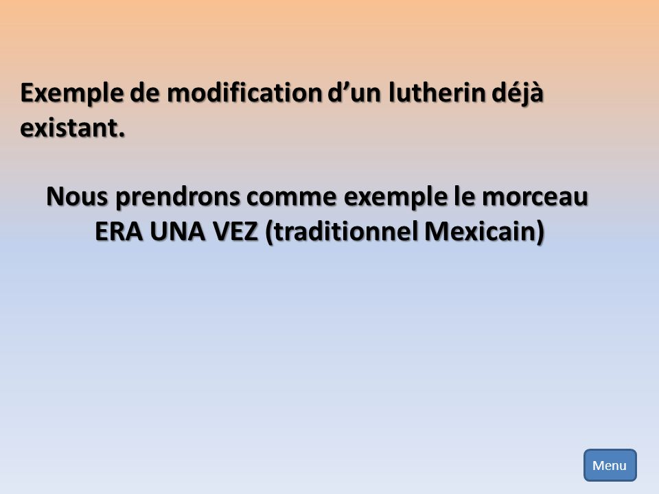 ERA UNA VEZ (traditionnel Mexicain)