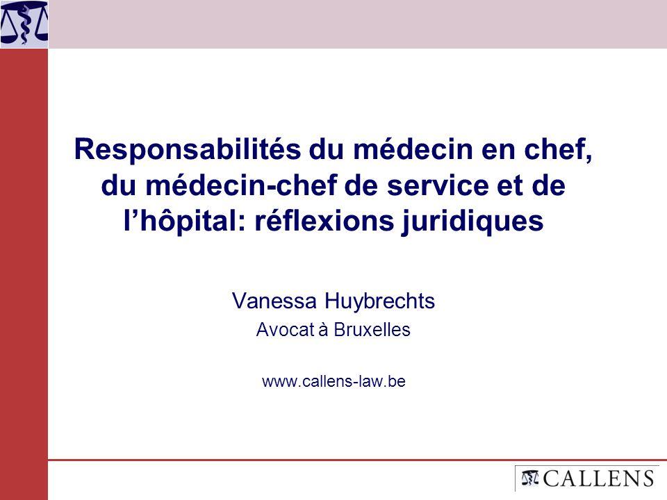 Vanessa Huybrechts Avocat à Bruxelles www.callens-law.be