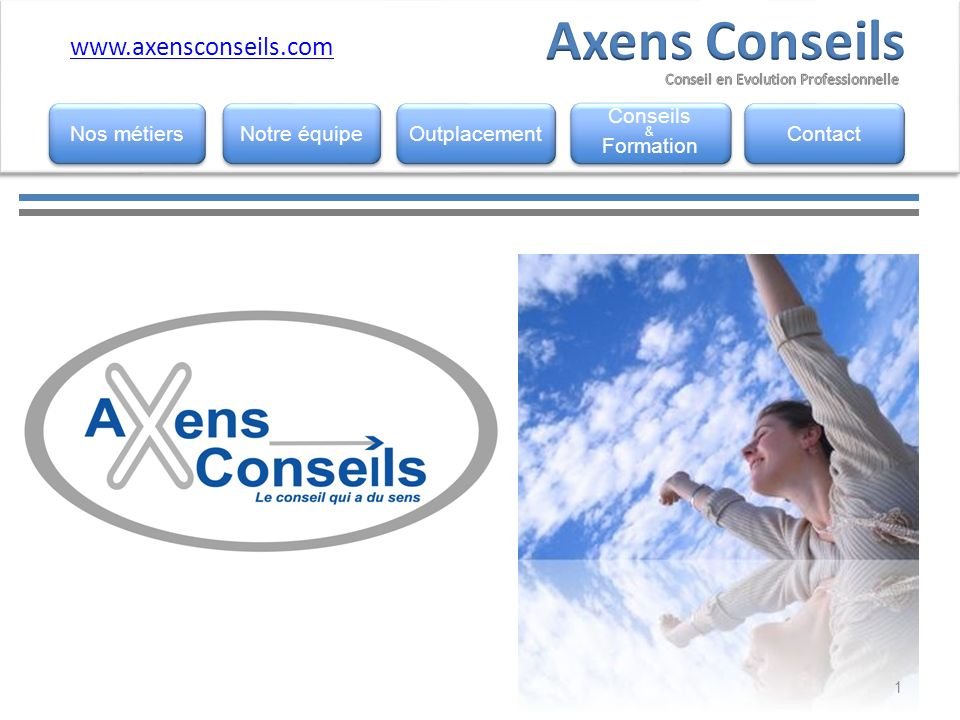 Axens Conseils www.axensconseils.com www.horemis.fr Nos métiers