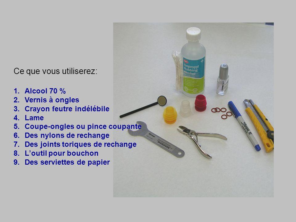 Ce que vous utiliserez: